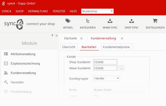sync4 Schnittstelle Kundeneinzelpreise (1)